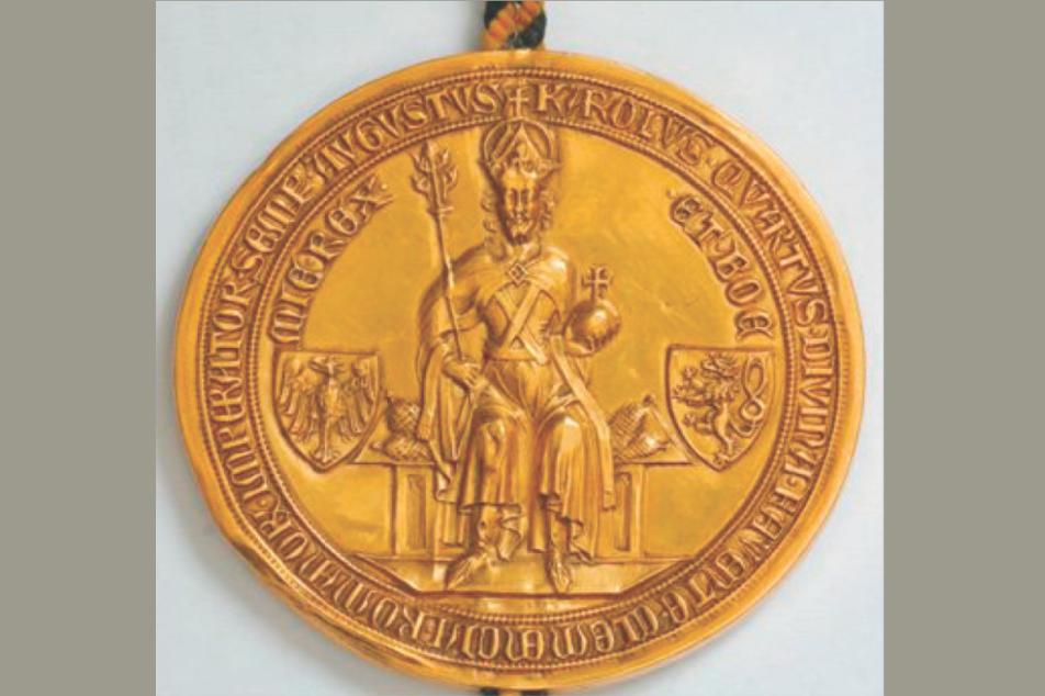 Goldbulle Kaiser Karls IV.