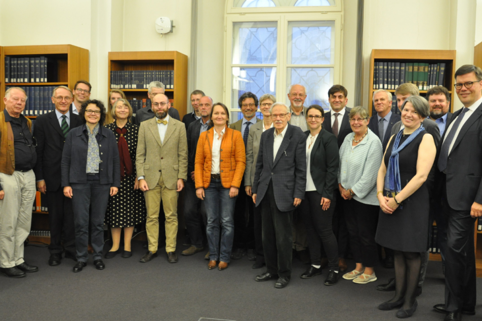 Mit Elan und Engagement: die Gründungsmitglieder des neuen Vereins. Foto: MGH