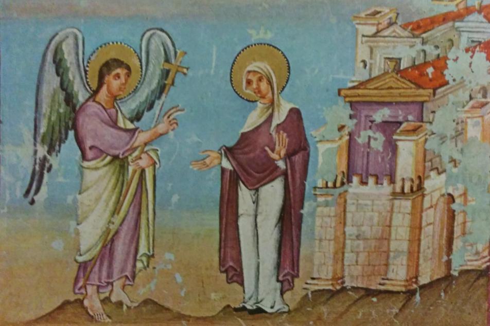 Codex Egberti, Verkündigung. Fotos: MGH/Rommel
