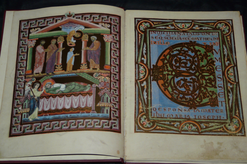 Salzburger Perikopenbuch, 11. Jhdt. Fotos: MGH/Rommel