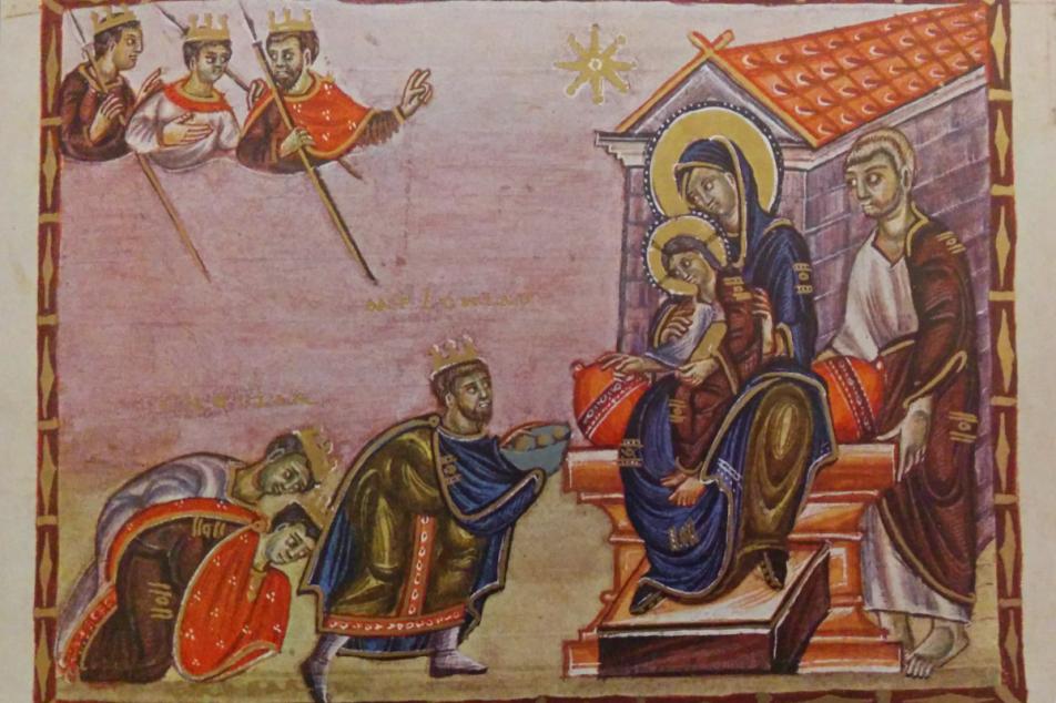Faksimile Codex Egberti Ende 10. Jhdt. Foto: MGH/Rommel